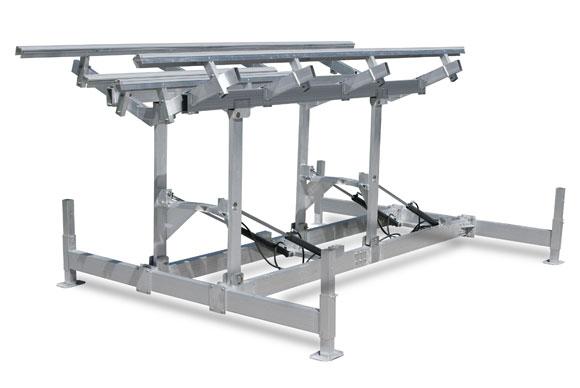 12,100 lb Capacity Hewitt Hydraulic Hi-Lift