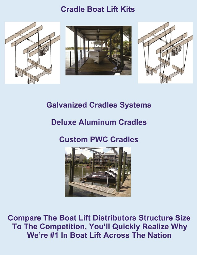 8,000-lb. Salt Water Series 10' Alum. Cradle