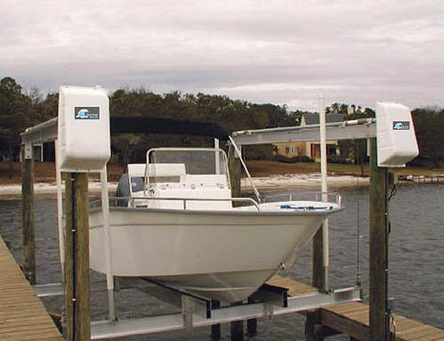 B. SS 6000 lb. Top-Mount Boat Lift (Platinum)