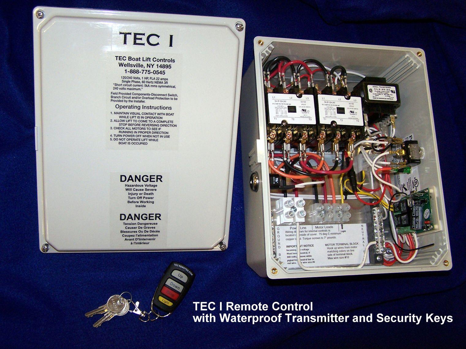 Tec 1 Remote  Small Box