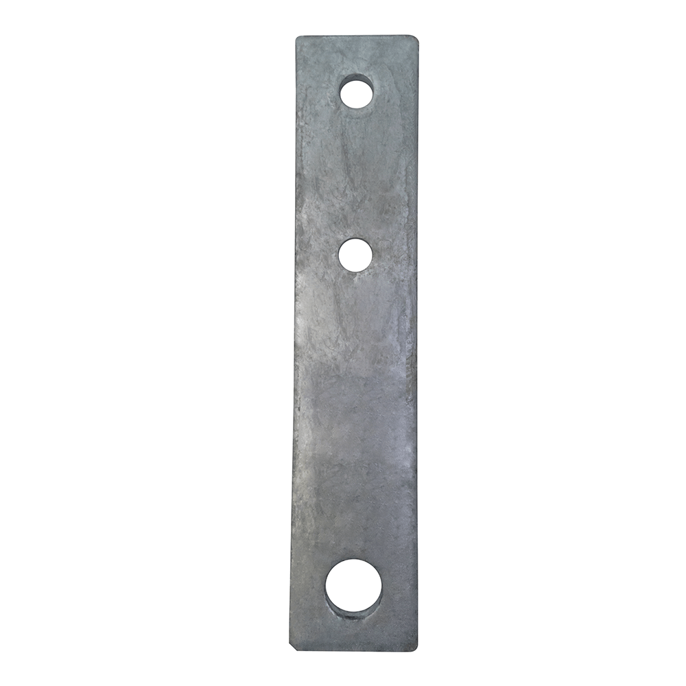 Pulley Mount Strap- Galvanized